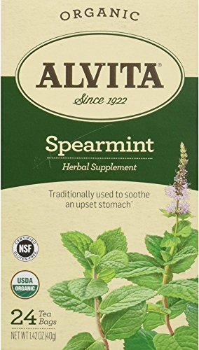 (Alvita Spearmint Organic Tea Bags 24 ea 1.42 oz (Pack of)