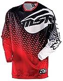 MSR Racing M15 NXT Men's MotoX Motorcycle Jersey - Red/Black / X-Large