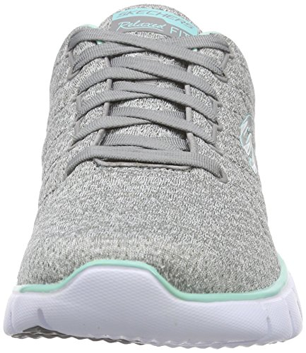 Skechers Sport Kvinna Skech Flex Mode Sneaker Grå / Mint