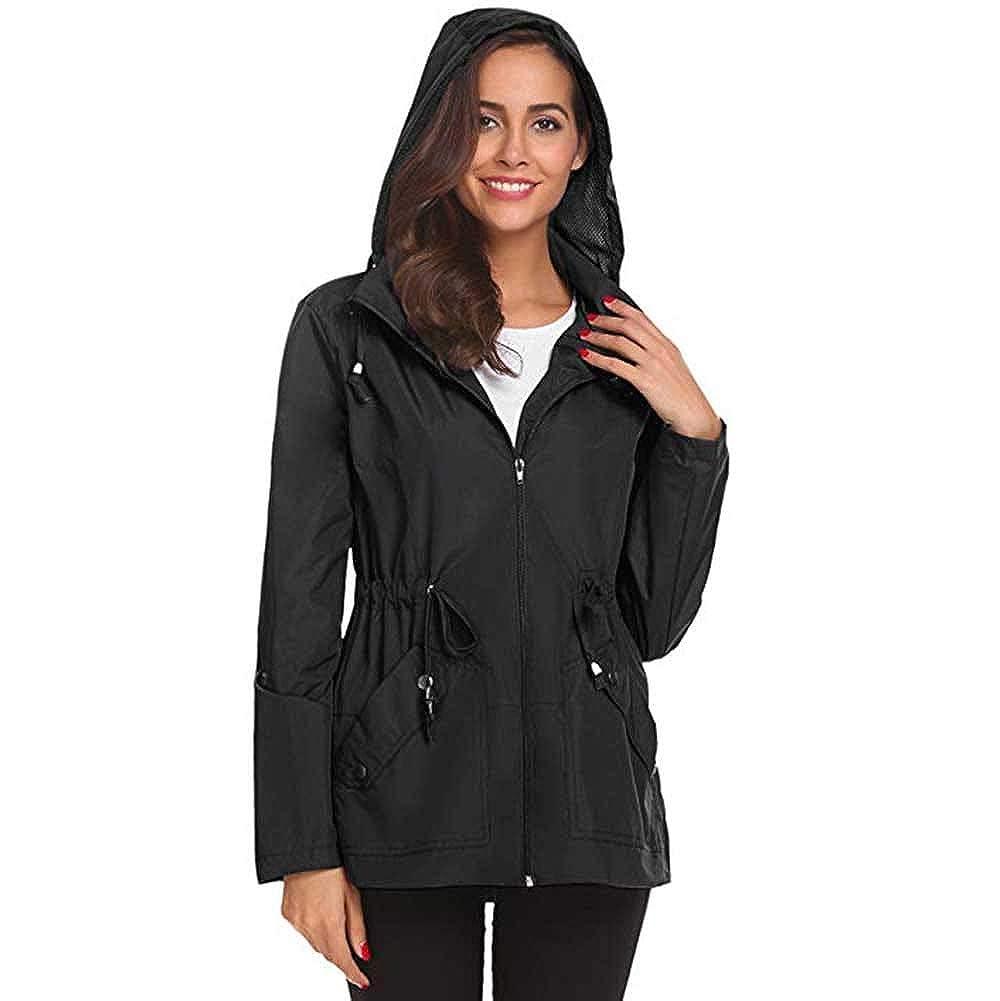 Vanvler  women coat jacket SHIRT レディース B07HWXGYMZ  ブラック L /US 10