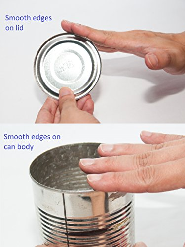 how to cut a tin can
