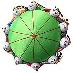 Rimobul Oriental Needle Pin Cushion with 10 Kids - Green