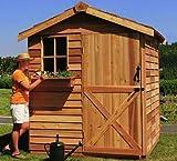 Cedar Shed: Gardener 6ft.x6ft.