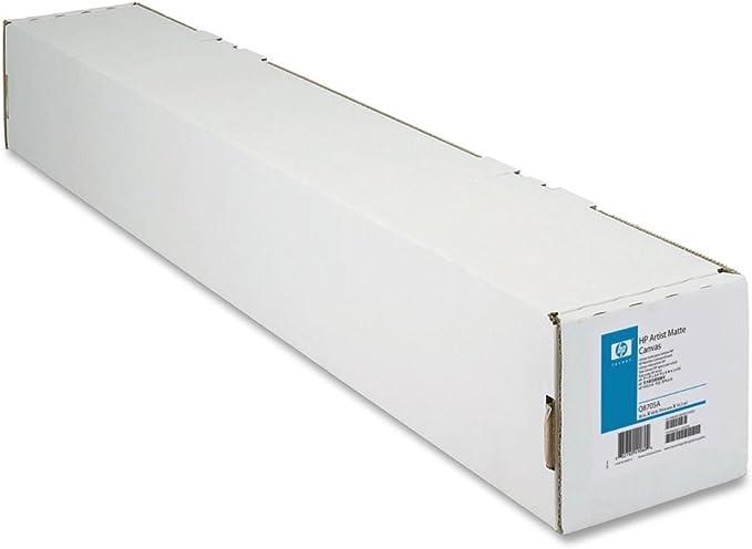 HP kuenstler de lienzo Mate rollo 91,4 cm x 15,2 m 38: Amazon.es: Oficina y papelería