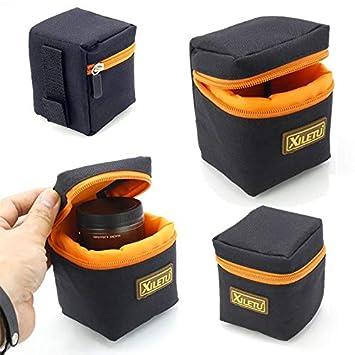 JACKBELLB Bolsas para Canon Sony 1pc Protector de Lente ...