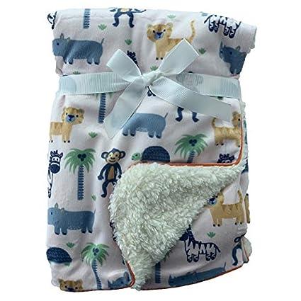 Baby Newborn Cot Pram Soft Snuggle Blanket Girl Boy First Steps Baby Shower Gift
