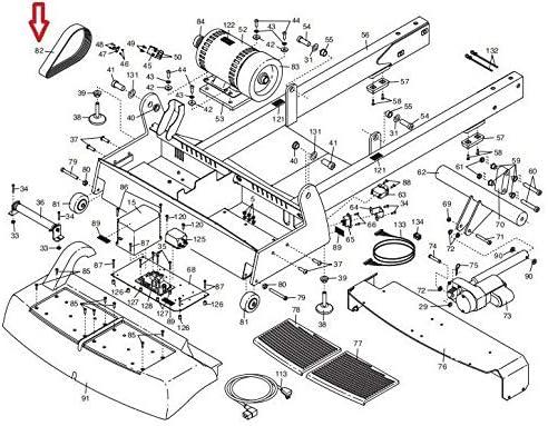 Inc Jason Poly V Flexonic Drive Belt 8PJ527 264014 Works with ...