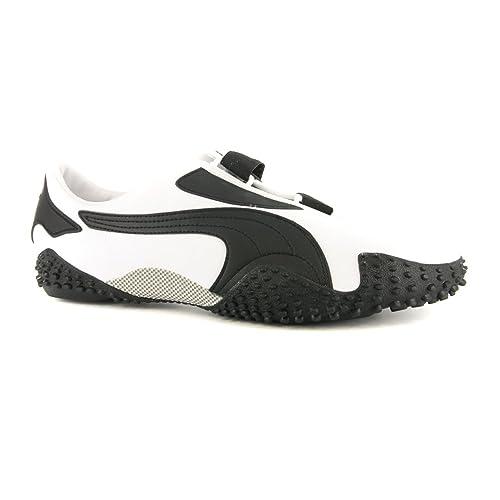 bas prix 81e90 5d9e9 Puma Mens Mostro en cuir noir Sneakers: Amazon.fr ...