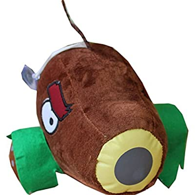 E.a@Market Plants Vs Zombies II Coconut Cannon Plush Toy Stuffed Toys: Toys & Games