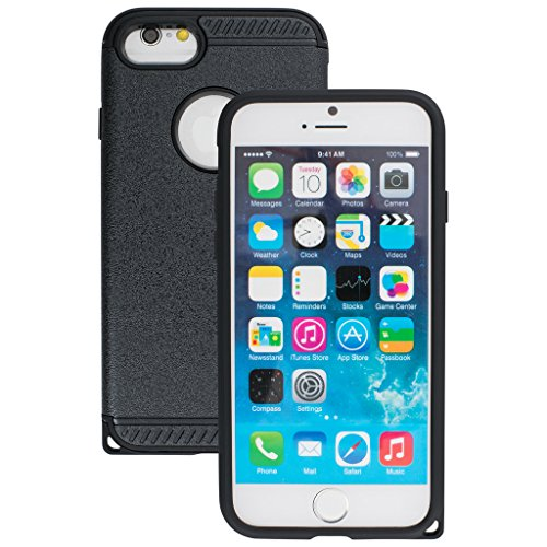 Decent Style Apple iphone 6s Case cover, Designer Case Frame Protective Cover For iPhone 6s (Black)