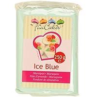 pâte d'amande- ice blue- Funcakes