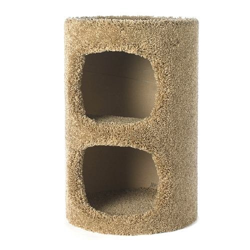 FlexRake Kitty Condo 2 Story 1 ea(Pack of 1) (Flexrake Condo)