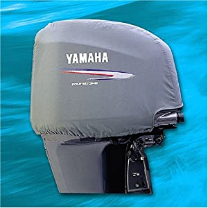 how to clean outboard motor cover