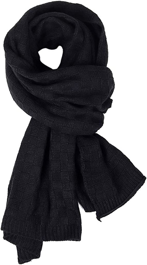 Women /& Mens Winter Thick Cable Knit Wrap Chunky Long Warm Scarf STYLISH Gift US