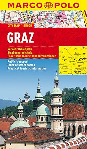 MARCO POLO Cityplan Graz 1:15 000 (MARCO POLO Citypläne) (Niederländisch) Landkarte – 22. Oktober 2014 Unknown MAIRDUMONT 3829730527 Karten / Stadtpläne / Europa