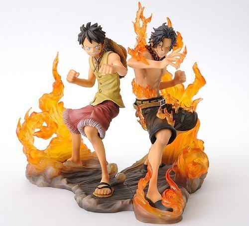One Piece DX Figure BROTHERHOOD Luffy & Ace (Japan Import) by Banpresto
