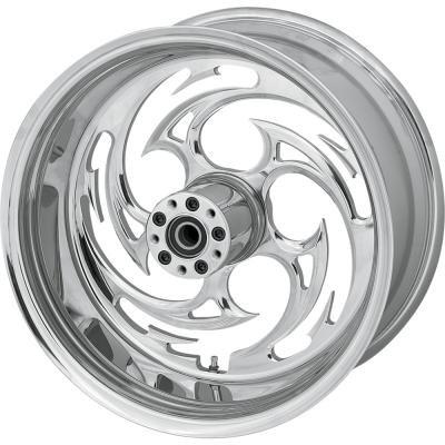 RC Components Savage Chrome 17x6.25 Rear Wheel , Color: Chrome, Position: Rear, Rim Size: 17 17625-9210-85C