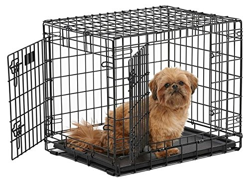 24-Inch w Divider MidWest Ultima Pro Series Dog Crate 25 Inches by 19 Inches by 21 Inches