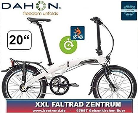 Bicicleta Plegable Dahon Mu P11 color blanco talla unica: Amazon ...