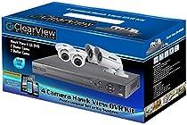 4ch Hawk View 2 Dome & 2 Bullet Camera DVR Kit