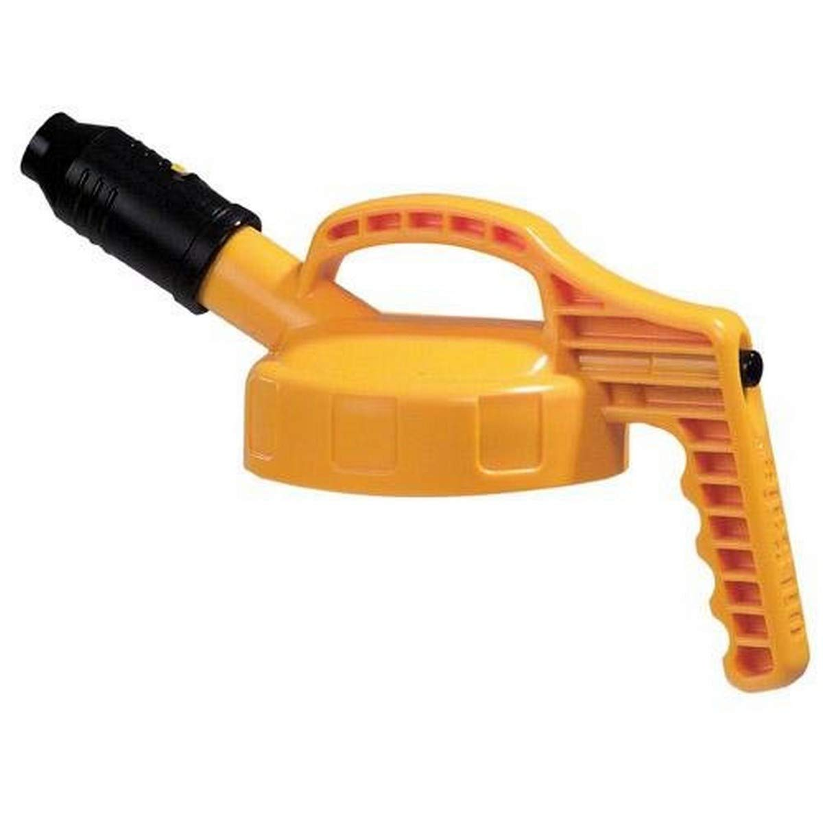 Oil Safe Stumpy Spout Lid - Industrial Grade   Heat-resistant   High Lubricant Flow   Ultra-durable construction   10 Different Colors - Yellow