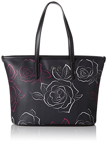 Shopping Fuchsia Multicolore Bag Bianco Nero wBqzZgR