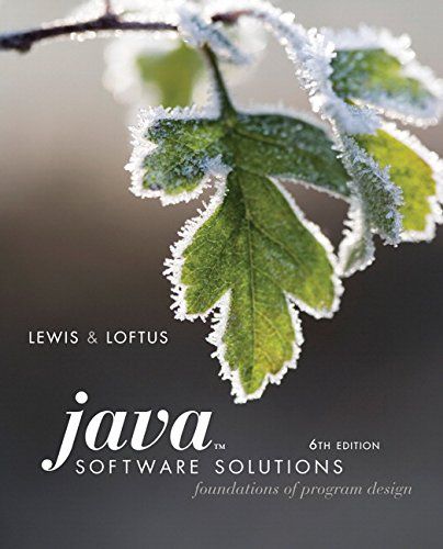 java software solutions lewis - 7