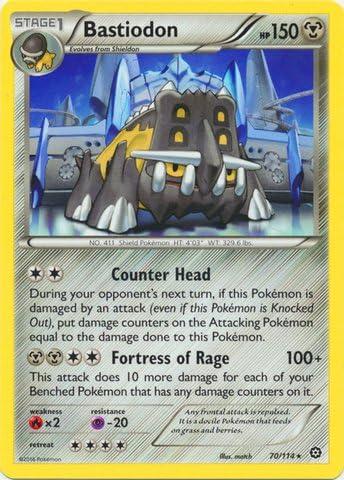 Pokemon - Bastiodon (70/114) - XY Steam Siege