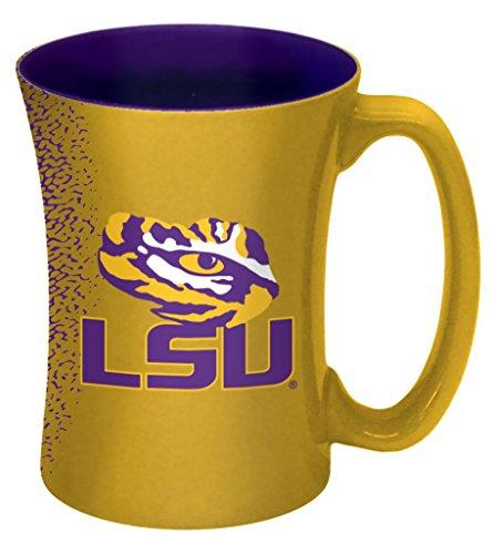 NCAA LSU Tigers Mocha Mug, 14-ounce, Yellow