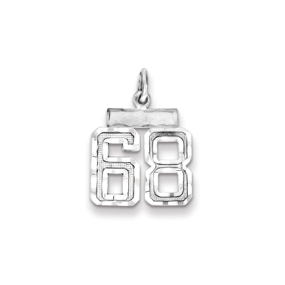FB Jewels Solid Sterling Silver Small #68 Charm
