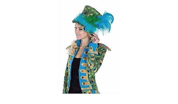 Mottoland GmbH Disfraz de Pavo Real para Mujer Sombrero Accesorio ...