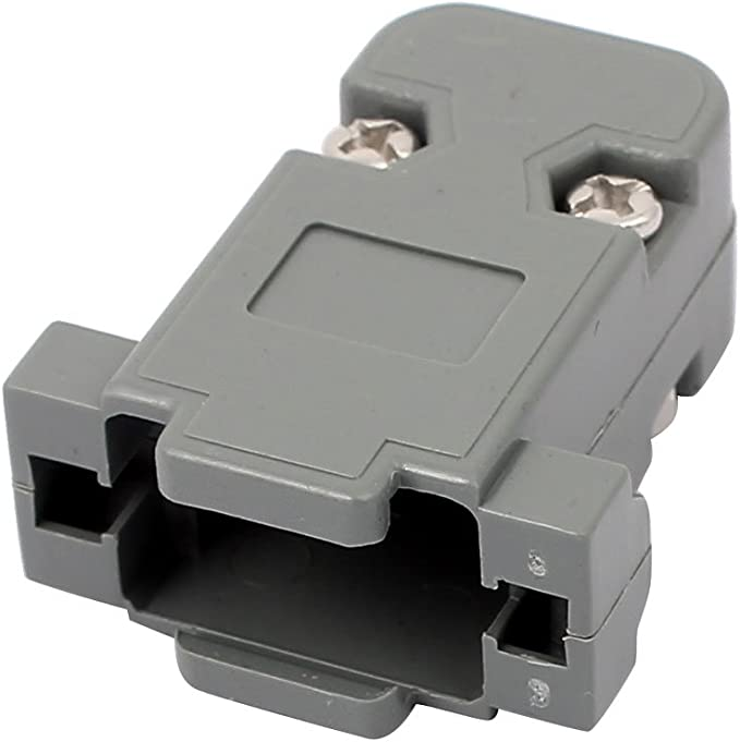 Plug Housing Shell for Parallel Serial DB9 9 Pin D Sub Connector