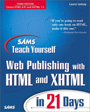 Sams Teach Yourself Web Publishing with HTML 4 in 21 Days (2nd Edition)