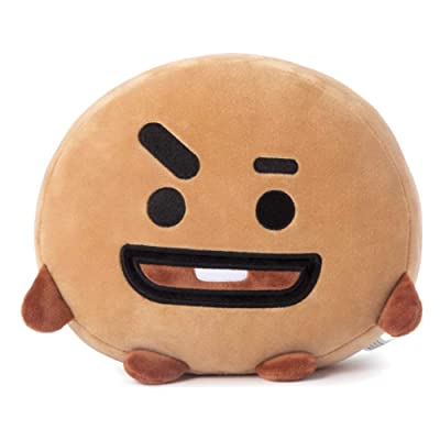 Teblacker BTS Plush Toy, Kpop Bangtan Boys Sofa, Bedroom, Living Room and Car Soft Cotton Plush Pillow for The Army( SHOOKY: 40X18CM): Toys & Games