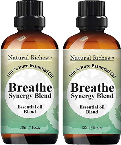 Natural Riches Breathe Essential Oil Blend - 1 Fl oz