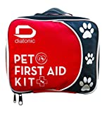 Pet First Aid Kit with Free Emergency Foldable Bowl - Travel and Camp for Pets and People, Universal First Aid - By Diatonic Designs