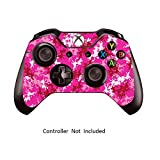 xbox 1 control covers - Skins Stickers for Xbox One Games Controller - Custom Orginal Xbox 1 Remote Controller Wired Wireless Protective Vinyl Decals Covers - Leather Texture Protector Accessories - Digicamo Pink
