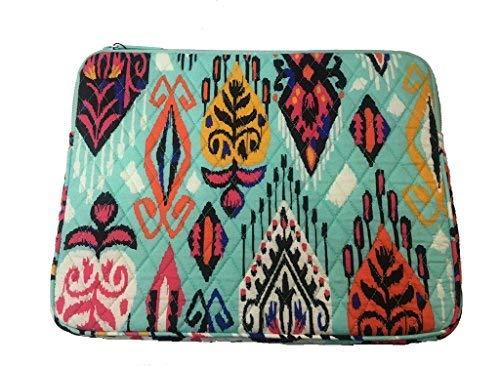 Price comparison product image New Vera Bradley Laptop Sleeve Padded Signature Cotton In Pueblo