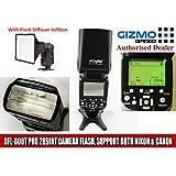 Digitek DFL-800T 289IRT Pro Electronic Camera Flash with Auto-Sensing