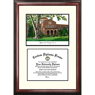 Image of Campus Images CA919V California State University, Chico Scholar Diploma Frame, 8.5' x 11' Diploma Frames