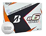 Bridgestone e6 Speed Personalized Golf Balls - Add Your Own Text (12 Dozen) - White