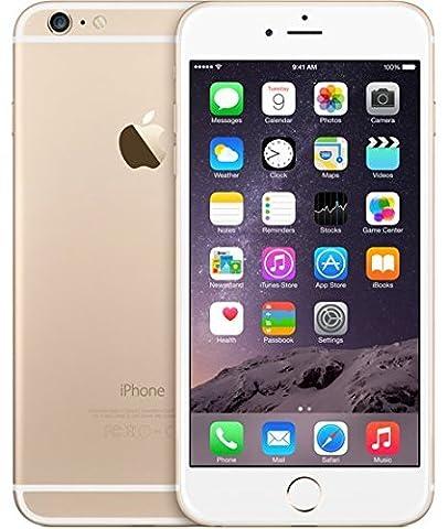 Apple iPhone 6 plus unlocked Cellphone, 128GB (Gold) (Prepaid Iphones Boost Mobile)