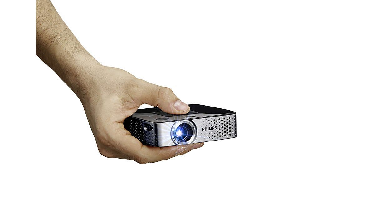 Philips PPX3417W - Proyector de Bolsillo LED inalámbrico (170 ...