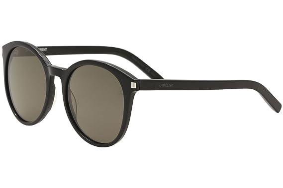 4782719c43b Saint Laurent CLASSIC 6 Sunglasses 002 Black / Smoke Lens 54 mm at ...