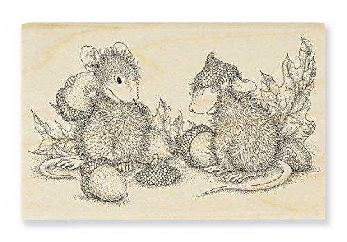 Stampendous Wood Stamp, Acorn Cap ()