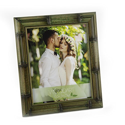(Wolff WOODART 4-inch x 6-inch Burnished Bamboo Picture Frame)