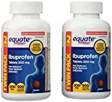 Equate Ibuprofen Pain Reliever Fever Reducer 200 mg, 1000 count