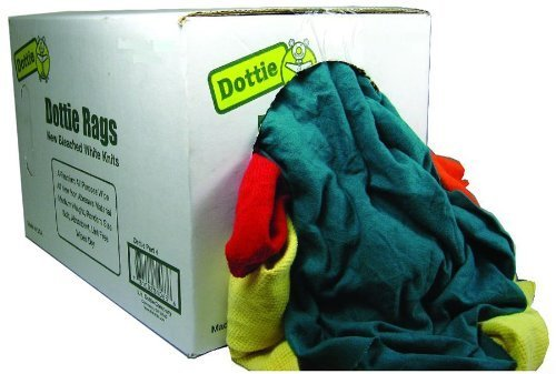 L.H. Dottie RGZ25 Wiping Rags, Recycled, 25-Pound Box by L.H. Dottie (Image #1)
