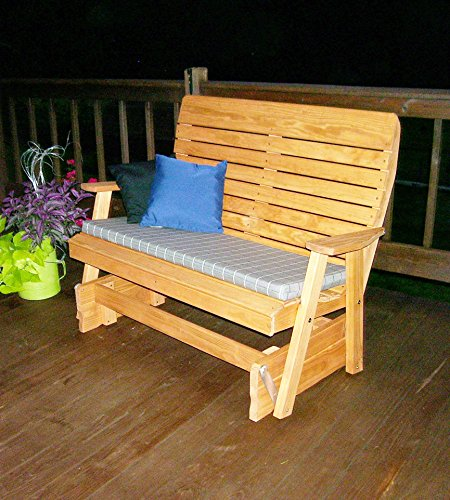 Aspen Tree Interiors 4' PORCH GLIDER Outdoor