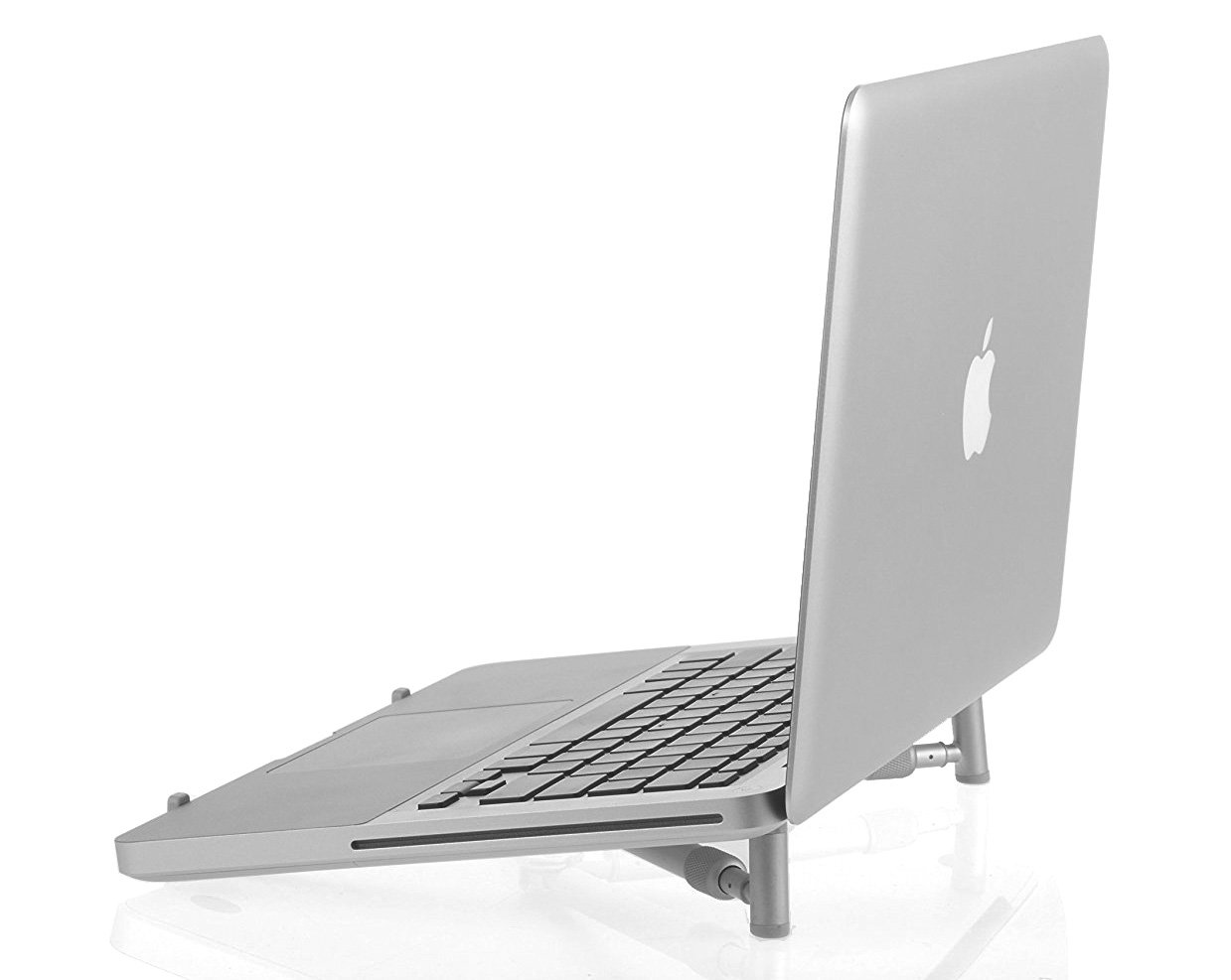 Arkscan LS22 Laptop Stand for Macbook and Notebook, Aluminum Ergonomic Lightweight Adjustable Portable Cooling Stand for 12 inches to 17 inches Computer Devices